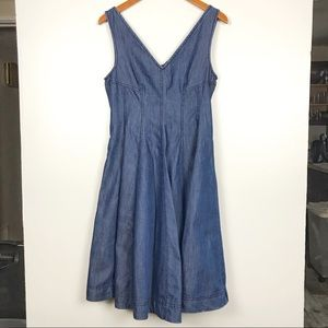 Anthropologie Holding Horses Denim Dress. SZ 4